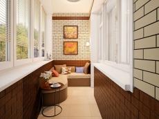 Балкон и лоджия под ключ